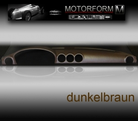 Mercedes SL/SLC W107 Dashboard-Cover dark brown