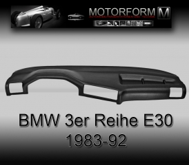 BMW 3-series E30 1983-92 Dashboard-Cover black