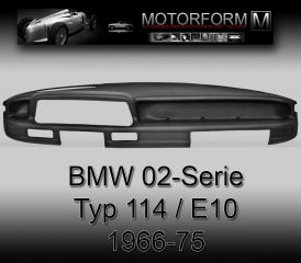 BMW 02-series 114 / E10 1966-75 Dashboard-Cover black