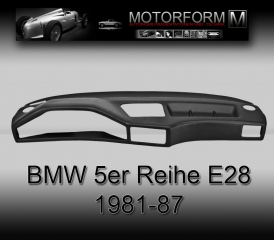 BMW 5-series E28 1981-87 Dashboard-Cover black