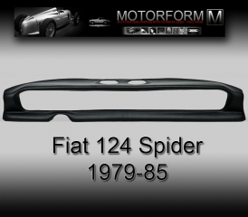 Fiat 124 Spider 1979-85 Dashboard-Cover black