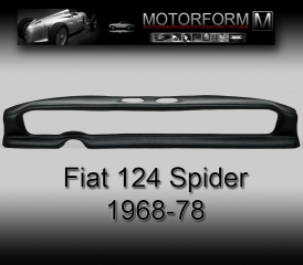 Fiat 124 Spider 1968-78 Dashboard-Cover black