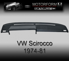 Volkswagen Scirocco 1974-81 Dashboard-Cover black