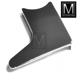 Lower left seat chrome cover for Mercedes SL 107 from 8/79