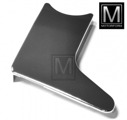 Lower right seat chrome cover for Mercedes SL 107 from 8/79