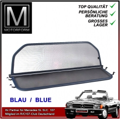 Wind Deflector blue for Mercedes SL 107 280SL - 560SL