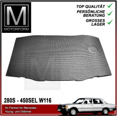 Engine Compartment Insulation for Mercedes S Class 116