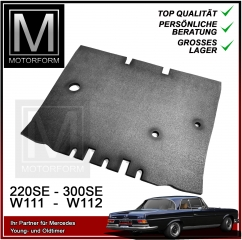 Engine Compartment Insulation for Mercedes 111 Coupe