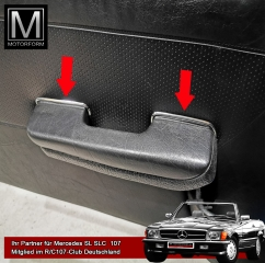 polished trim set for door panel Mercedes SL SLC 107