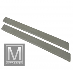 2 pieces sill cover set gray for Mercedes SL 107