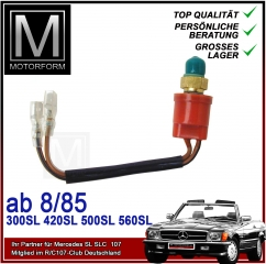 AC Pressure Switch for Mercedes SL 107 and 124 126