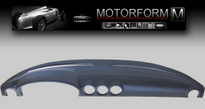 Mercedes SL/SLC W107 Dashboard-Cover blue