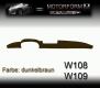 Mercedes 108-series Dashboard-Cover brown