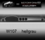 Mercedes 107-series SL Dashboard-Cover gray