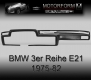 BMW 3-series E21 1980-83 Dashboard-Cover black