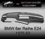 BMW 6-series E24 1975-82 Dashboard-Cover black