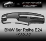 BMW 6-series E24 1982-87 Dashboard-Cover black
