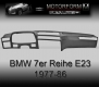 BMW 7-series E23 1977-86 Dashboard-Cover black