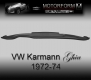 Volkswagen Karmann Ghia 1972-74 Dashboard-Cover black