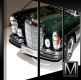 Mercedes 300SEL 6.3 W109 3-pieces Canvas Print - framed