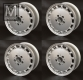 4 Aftermarket Kanaldeckel wheel rims size 7x15 H2 ET23 NEW