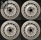 4 Aftermarket Barock wheel rims size 7x15 H2 ET23 NEW
