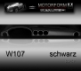 Mercedes 107-series Dashboard-Cover black