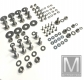 101 pieces stainless steel screw set for SL 107 front bumper