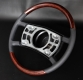 Burl walnut wooden steering wheel Mercedes SL 107 '73-80