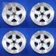 4 Aftermarket Penta wheels rims size 8x16 H2 ET11 NEW