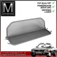 Wind Deflector grey for Mercedes SL 107 280SL - 560SL