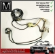 cable and plug incl. socket for 1 headlight Mercedes 107